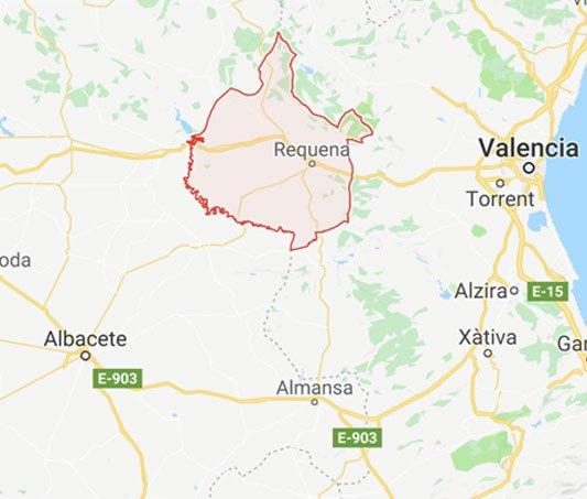 Utiel-Requena region