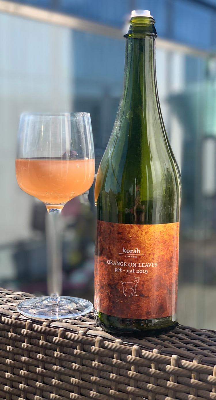 orange-on-leaves Wine